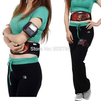 Ab Tronic X2 Abdominal Muscle Training Ems Stimulator Massager Belt Stimulating Toning Slim Fitness Diet Weight Loss Compressor - intl