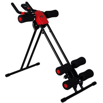 Abdominal Trainer Fitness Power Plank Machine red/blk