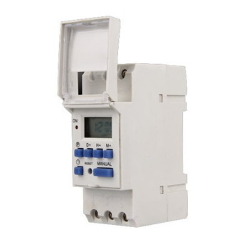 AC 220V 16A Digital LCD 7-Day Programmable Timer Time Relay Switch- Intl