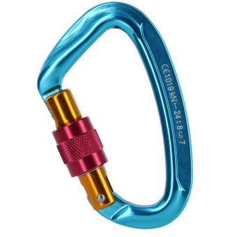 Adela CE 22mm ScrewLock Alloy Carabiner Connerctor Climbing Rescue Mountaineering