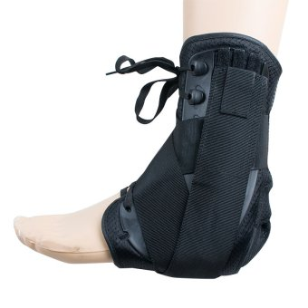 Adjustable Foot drop Orthotic Correction Ankle Brace Support Stabilizer-M - 3