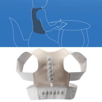 Adjustable Posture Corrector Clavicle & Shoulder PostureBrace/Back Support (L) - intl Price Philippines