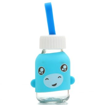 Adorable Animal Silicone Cover Glass 145Ml (Intl)