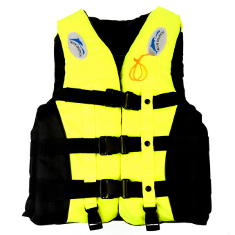 Adult Swimming Life Jacket Whistle L (Yellow) Price Philippines