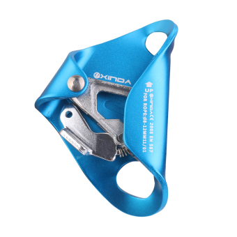 Alloy Chest Ascender for 8mm-12mm Ropes Climbing Rescue Caving Blue
