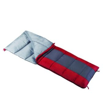 American Rec Wenzel Lakeside 40-Degree Sleeping Bag (Blue/Red)
