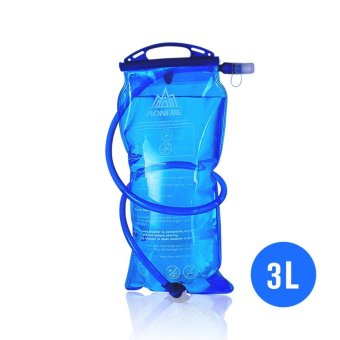 AONIJIE Outdoor Cycling Running Foldable PEVA Water Bag Sport Hydration Bladder for Camping Hiking Climbing 3L - intl
