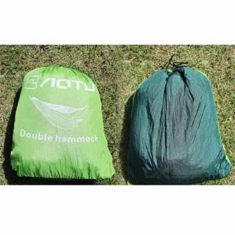 AoTu AT6730 2-Person Hammock - Blackish Green + Apple Green - 3