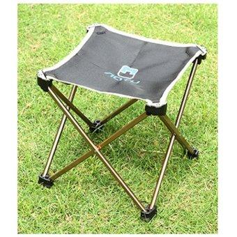 ... Aotu Outdoor Folding Fold Aluminum Chair Stool Seat Fishing Camping - intl - 3 ...