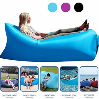 Banana Bed Air Lounger Fast Inflatable Air Bag Bed Sofa CouchOutdoor Beach Camping