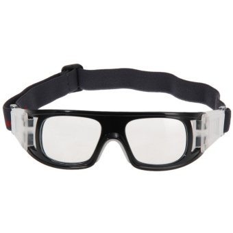 Basketball Sports Protective Goggles Glasses Black - intl
