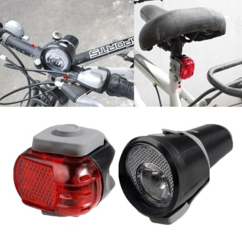 Bicycle 5W Front Headlamp 3 Modes Bike Headlight And Rear Lamp TailLight - intl