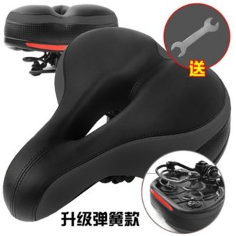 Bicycle Cushion Saddle Mountain Seat Cushion Soft Squat ComfortableThickness Seat Cycling Accessory Riding Equipment - intl