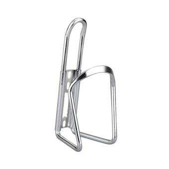 Bicycle Cycling Sport Water Bottle Aluminum Cage Holder Rack Silver - INTL