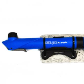 Bicycle HAND PUMP GIYO GP-47L BLUE, BIKE AIR PUMP PORTABLE