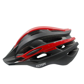 Bicycle helmet for men and women one-piece shaped hat