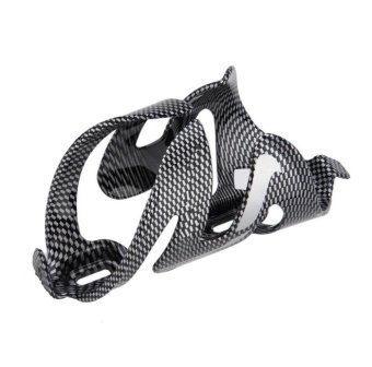 Bicycle Water Bottle Cages Carbon Fiber Drink Water Bottle Holderfor Outdoor Bike Cycling Mountain Sports Cycling Bicycle Outdoor -intl - 2