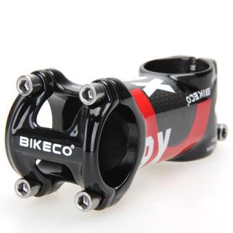 Bikeco Handlebar with 3K Carbon Fiber Ultralight Stem (Red) (80mm)- intl - 4