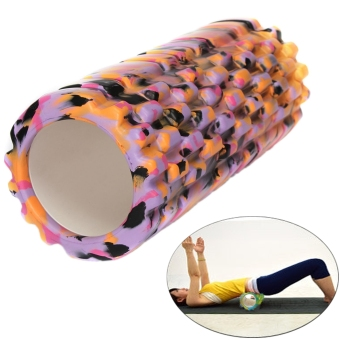 Camouflage Yoga Foam Roller Trigger Point Grid Gym Pilates Massage Sport Style 3 - picture 4