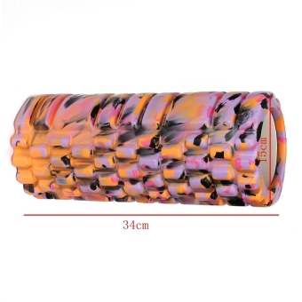 Camouflage Yoga Foam Roller Trigger Point Grid Gym Pilates Massage Sport Style 3 (Intl) - picture 3