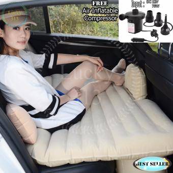 Car Travel Inflatable Air Bed Mattress Outdoor Sofa Milcky Free AirCompressor