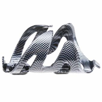Carbon Fiber Pattern Bicycle Bike Cycling Carbon Water Bottle CageHolder - 2