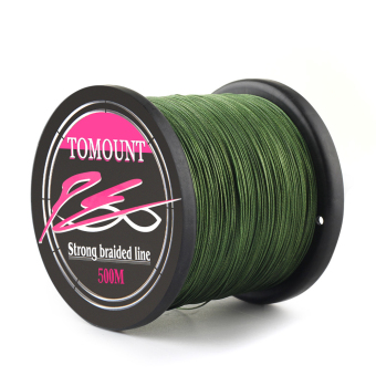 CARCHET 8 Strands 200LB 500M Braided PE Fishing Line Green