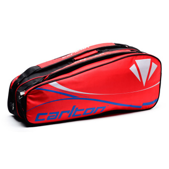 Carlton AC EN006 2-Compartment Racket Bag (Red/Blue) Price Philippines