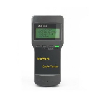 CAT5 RJ45 Network Cable Tester (Grey)