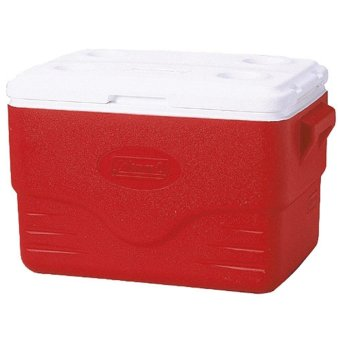 Coleman 36 Quart Cooler (Red)