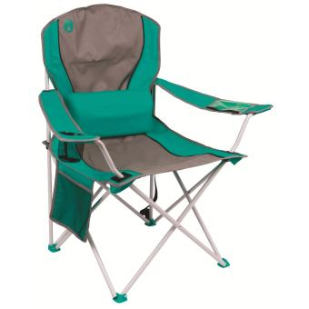 Coleman Lumbar Quad Chair Teal
