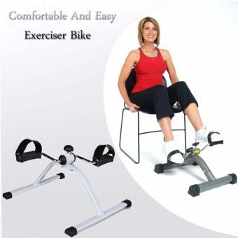 Comfortable And Easy Exerciser Bike (White/Black) Price Philippines