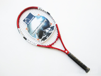 Compound high strength carbon aluminum tennis racket (Rose)