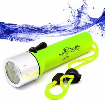 CREE 3W LED Submarine Light Diving Flashlight Underwater TorchWaterproof CREE Q5 Lamp