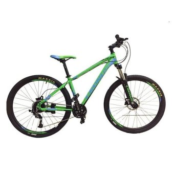 "CRONUS Holts 650 27.5"" Mountain Bike (Green/Black/Blue)"