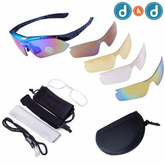 D&D 0089 Men Women Cycling Glasses UV400 Outdoor SportsWindproof Eyewear Mountain Bike Bicycle Motorcycle Sunglasses
