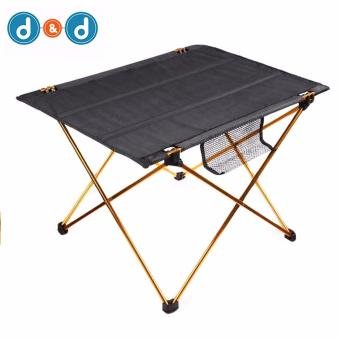 D&D Portable Ultralight Outdoor Aluminium Alloy Folding Tablefor Camping Hiking Picnic