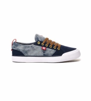 DC Men's Evan Smith S Low Cut (Bleach)