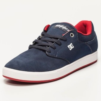 DC Men's Mikey Taylor Low Cut (Navy/Red)