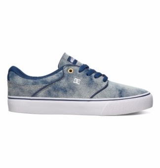 DC Men's Mikey Taylor Vulcanized Low Cut (Grey Rinse)