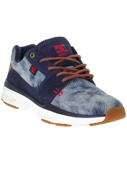 DC Men's Player Se Low Cut (Denim)