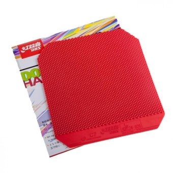 DHS C7 Table Tennis Rubber (Red)