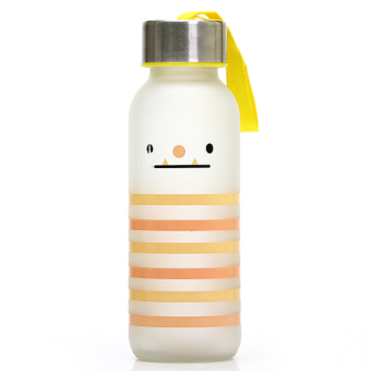 DHS Creative Expression Striped Frosted Glass 300Ml - Intl