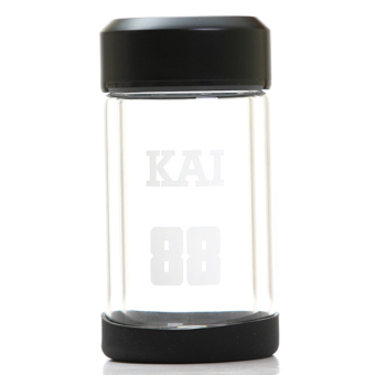 DHS Digital Double Borosilicate Glass Cups 200Ml - Intl