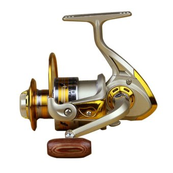 DHS High Speed 10 BB Ball Bearing Left/Right Fishing Spinning Reels EF6000 Gold - Intl - picture 2
