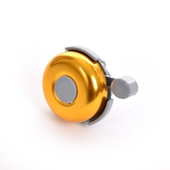 Diameter 5cm New Safety Metal Ring Handlebar Bell Loud Sound forBike Cycling bicycle bell horn(Yellow)