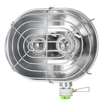 Double Head Outdoor Heater Portable Infrared Ray Camping HeatingStove Warmer Heating Gas Stove - intl - 3