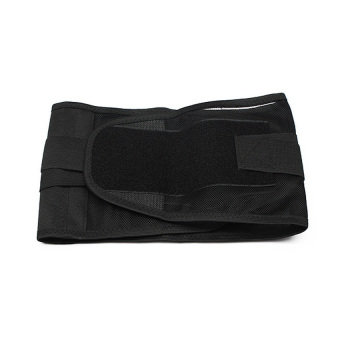 Double Pull Breathable Lumbar Lower Back Pain Support Belt Brace Protector US L - INTL