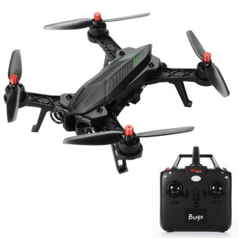 DSstyles MJX B6 Bugs6 RC Aircraft,Brushless Moter,Independent ESC,Smart Transmitter Alarm,High Capacity Battery Racing,Black - intl Price Philippines