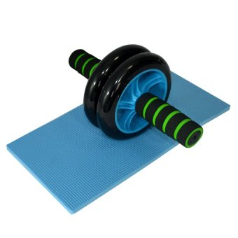 Dual Ab Wheel for Abdominal Roller Workout Exerciser